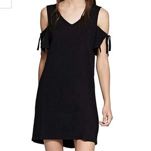 Black Sanctuary Tank Dress with off arm detail